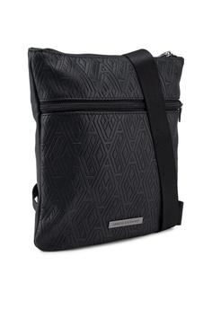 bfe36b3d37a6 Armani Exchange Geometric Logo Crossbody Bag RM 567.00. Sizes One Size
