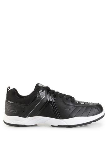 Ardiles black Men Federer Badminton Shoes AR073SH0UM1CID_1