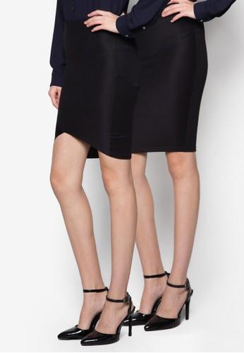 Jane & Elisa 二zalora 評價入鉛筆裙組, 服飾, 裙子