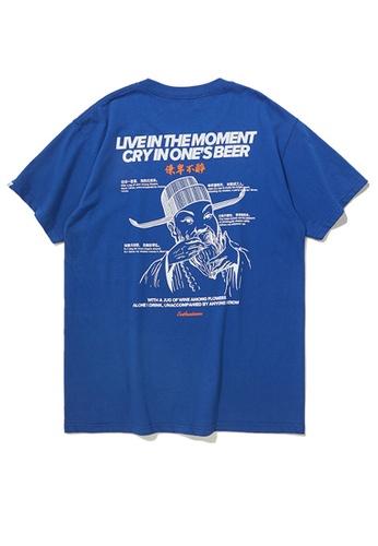 Twenty Eight Shoes Trend Printed Short T-Shirt 91908S FF4E8AA5F3D892GS_1