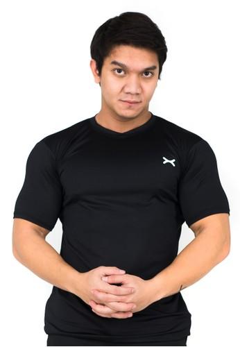 Flexzone black FLEXZONE Sports Tee MultiSport Series Black 9B2D3AA0844F91GS_1