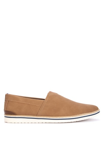 Call It Spring beige Areadien Slip Ons 2258ASHFB5DEA4GS_1