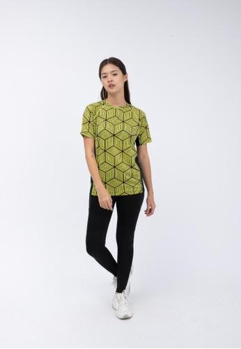 Trijee black and yellow Trijee Women Short Sleeve Tee Halu Series 4 Sook Yellow 324C4AA2EE22C7GS_1
