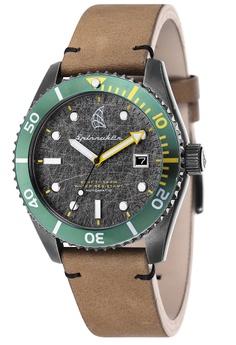 5875cdef399 Spinnaker brown Spinnaker Men s Genuine Leather Strap Watch - SP-5051-03  EFA35AC1CE964DGS 1