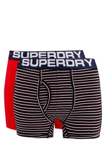 SUPERDRY navy Sport Boxer Double Pack 149B5USE8BA0F1GS_1