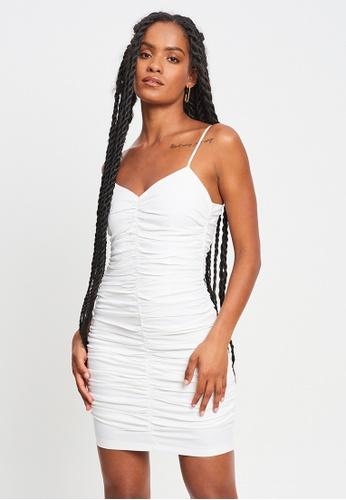 BWLDR white Leanne Mini Dress F1565AA2FB59B6GS_1