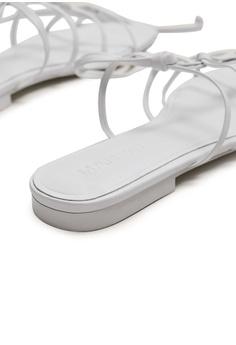 407167907fb Mango Leather Straps Sandals RM 299.00. Sizes 36 37 38 39 40