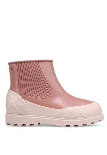 Melissa 粉紅色 Melissa Fusion 靴子 6CAC0SH3DE5A79GS_1