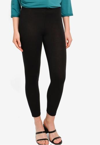 ZALIA BASICS 黑色 Slim Fit Inner Leggings DBE49AA167FD3FGS_1