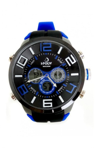 Lucky JX blue Korea Edition High-grade Quartz Watch 6DE5FAC8200110GS_1