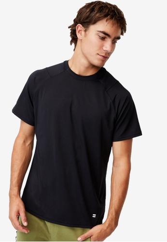 Cotton On black Performance Active Tech T-Shirt 8420AAAC1BD955GS_1