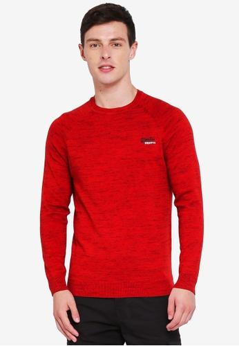 Superdry 紅色 休閒棉T 7831CAABB11960GS_1
