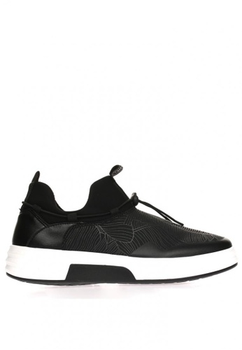 New York Sneakers black Chris 8060 Slip On Shoes B6350SH1F67B5DGS_1