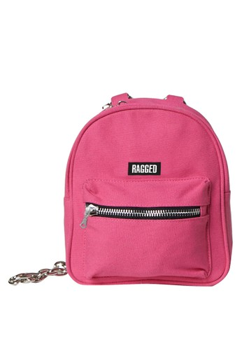 The Ragged Priest pink Modest Pink Backpack 618A9AC78C622BGS_1