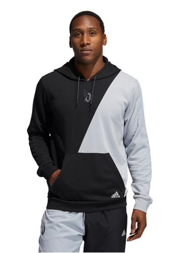 ADIDAS silver adidas dame visionary hoodie B437BAAA60C552GS_1