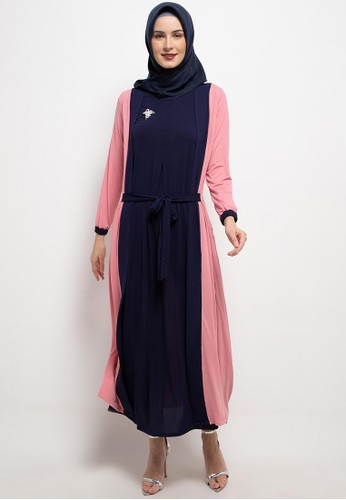 REMIX JEANS pink and navy Gamis B486 050B7AACDDC7CBGS_1