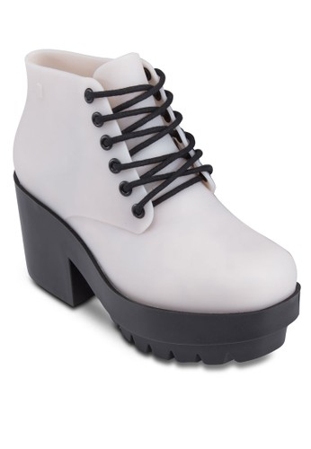Stel京站 espritlar 繫帶厚底靴, 女鞋, 厚底鞋