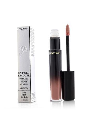 Lancome LANCOME - L'Absolu Lacquer Buildable Shine & Color Longwear Lip Color - # 202 Nuit & Jour 8ml/0.27oz B0F04BE023EB0BGS_1