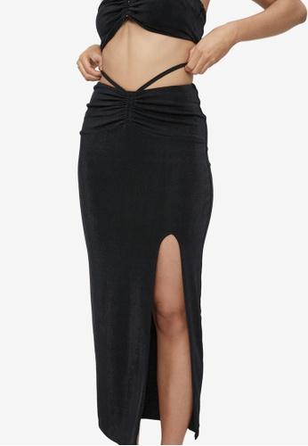 Supre black Zora Mermaid Maxi Skirt 07EA2AA8FB9334GS_1