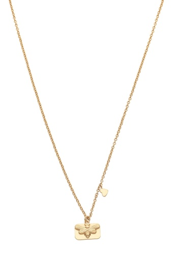 Pastiche gold Bee Necklace 03C25AC06C6507GS_1