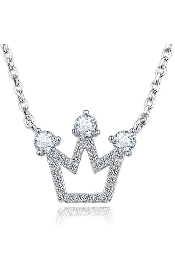 Vivere Rosse silver Sweet Princess Necklace VI014AC18DVPMY_1