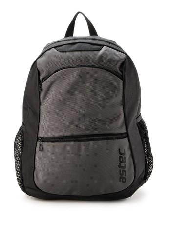Astec black Clyde - II Backpack 319CDACF6F2AD1GS_1