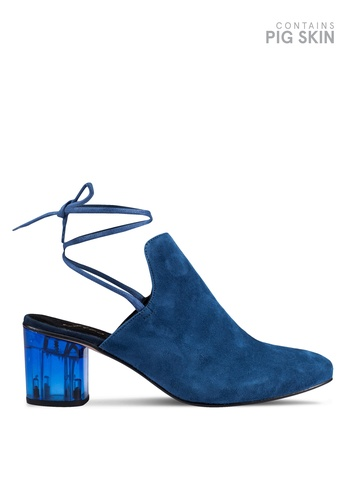 Free People blue Sparkle Wrap Mules FR659SH0RURCMY_1