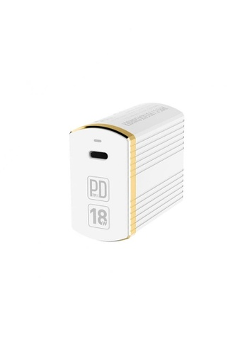 Latest Gadget white LDNIO A1302Q-C Type-C Wall Charger 52115ACF3CFE64GS_1