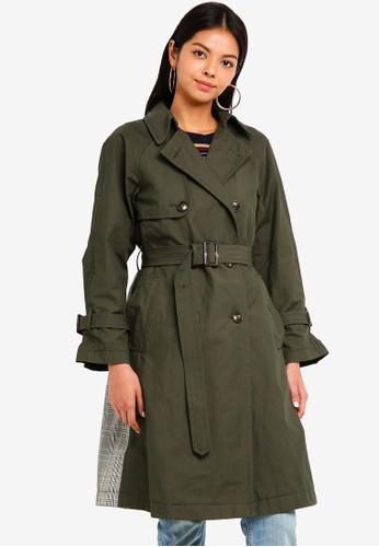ESPRIT green Woven Regular Coat 0E473AA4469C51GS_1