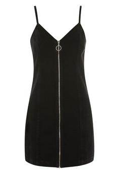 d2eac0fbe4e1 60% OFF TOPSHOP Zip Through Denim Dress S  76.90 NOW S  30.90 Sizes 6