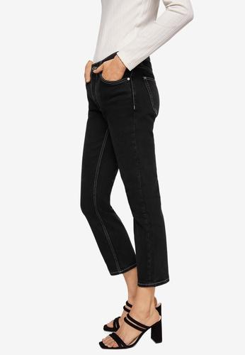 Mango grey Sayana Straight Jeans A7F6AAAD0526F3GS_1