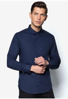 Neon Zipper Long Sleeve Shirt