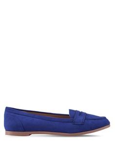 3ec208fb388 Dorothy Perkins blue Lacey Blue Loafers BB442SH8B2FDDBGS 1
