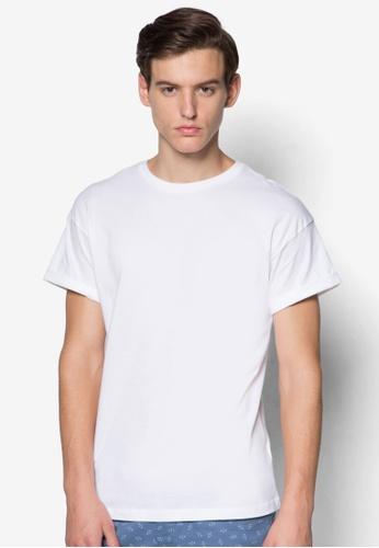 Topman white Roller Fit T-Shirt TO250AA96UTVSG_1