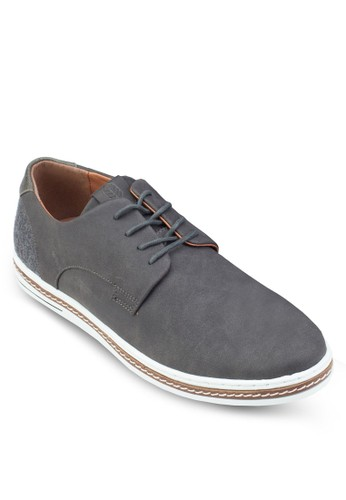 Auronzo 繫帶休閒皮鞋, 鞋esprit香港門市, 鞋