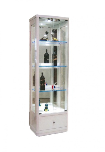 Choice Furniture white Choice Furniture - Dona Display Cabinet 347B2HL602ECEDGS_1