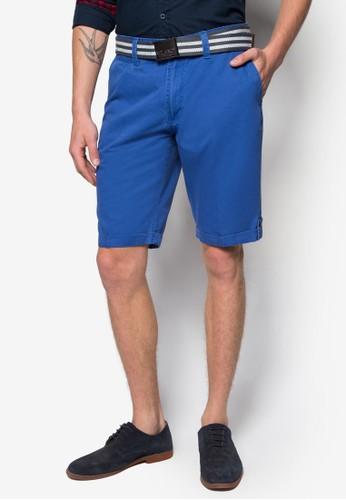 腰帶休閒短褲, 服飾, esprit hk短褲