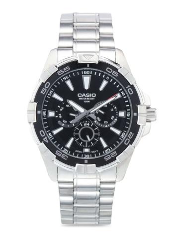 Casio silver Casio MTD-1069D-1A2VDF Watch 2CFF6AC3110C07GS_1