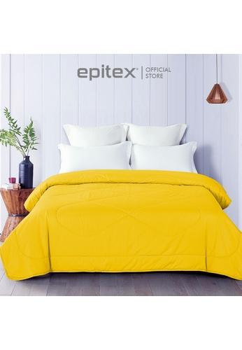 Epitex Epitex Silkysoft 900TC SS8027-9 Blanket - Quilt - Comforter - Duvet - Beddings (Yellow) 74649HL61B3A91GS_1