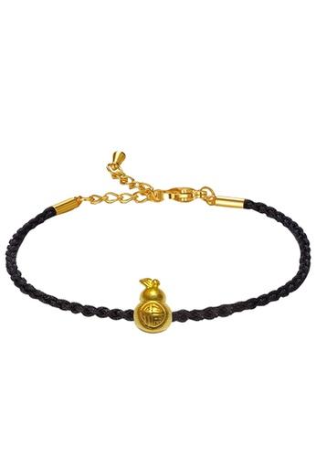 LITZ gold [SPECIAL] LITZ 999 (24K) Gold Gourd with Bracelet 葫芦手绳 EPC0977-B-B (0.14g+/-) 9A7A5AC24EEF46GS_1