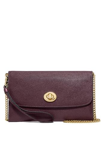 Coach red Chain Crossbody Bag (cv) 6222DAC1E27686GS_1
