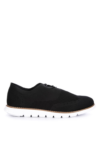Alberto black Oxford Sneakers 4453BSH7D4EEDBGS_1