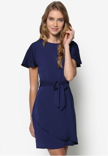 鏤空繫帶連身裙,esprit手錶專櫃 服飾, 夏日洋裝