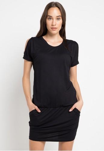 Logo Jeans black Dido Black Dress C06BDAA1DD61AFGS_1