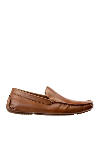 Hush Puppies brown Hush Puppies Men's Barca Loafer - Tan 6F9BBSH2B79B29GS_1