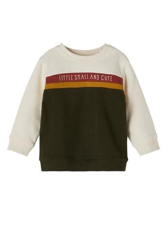 NAME IT green Nils Long Sleeves Sweatshirt 9494AKA71EDAE1GS_1