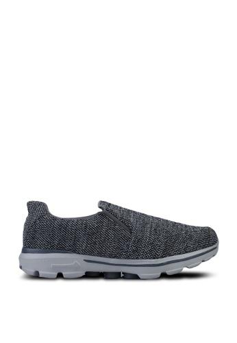 UniqTee grey Lightweight Slip-On Sport Sneakers B7A60SHFF24346GS_1