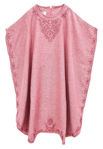 FIYORA pink Aleeya Party Girl Dress Kaftan 87A08KAB34DA5CGS_1
