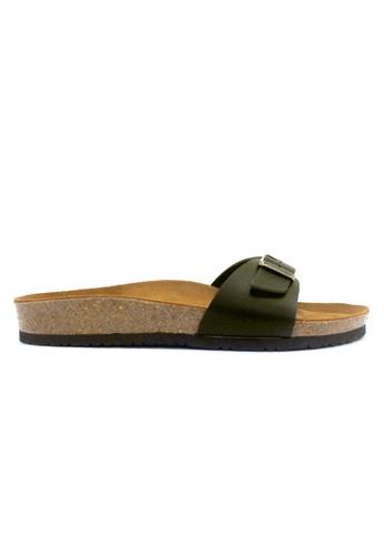 SoleSimple green SoleSimple Lyon - Leather Khaki 59E98SH7D75A75GS_1