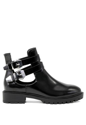 London Rag black Annabelle Ankle Boots 8E271SHC64550BGS_1